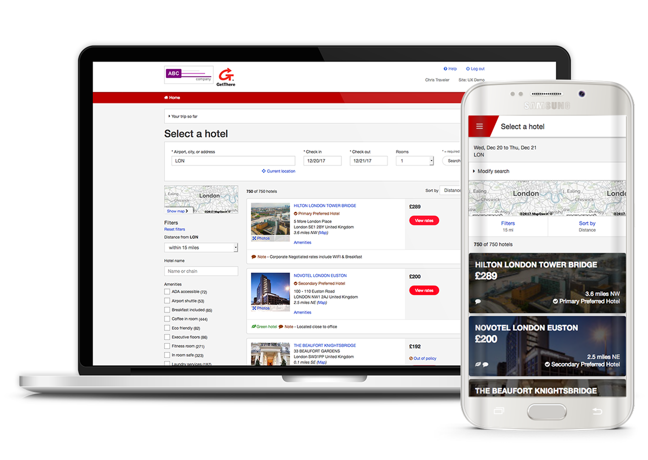 GetThere | World's Leading Online Travel, Expense and Meetings